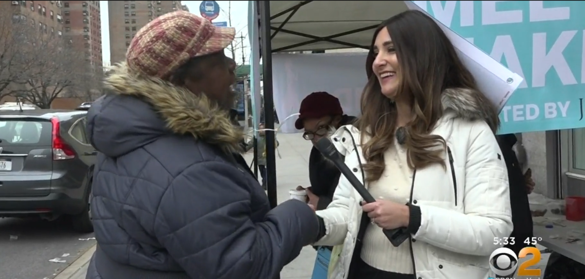 """Meet a Jew in the City"" Harlem Pop-Up on CBS News"