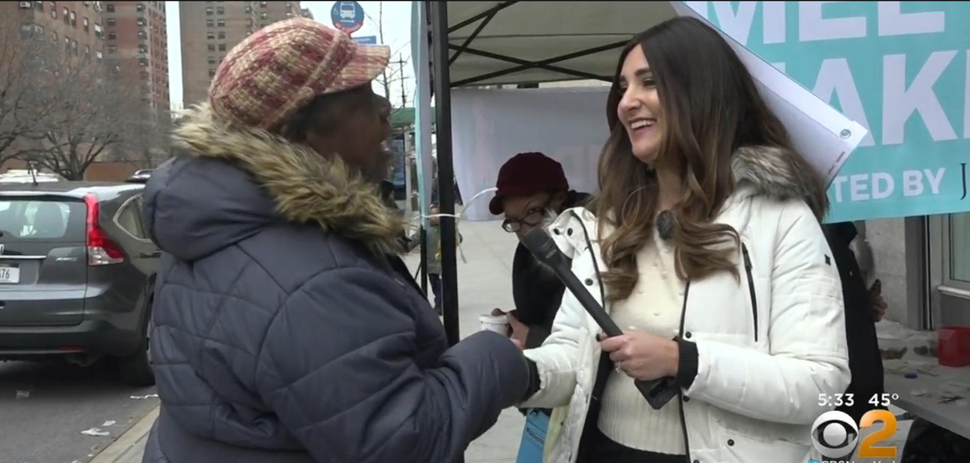 """Meet a Jew in the City"" Harlem Pop-Up on CBS News"