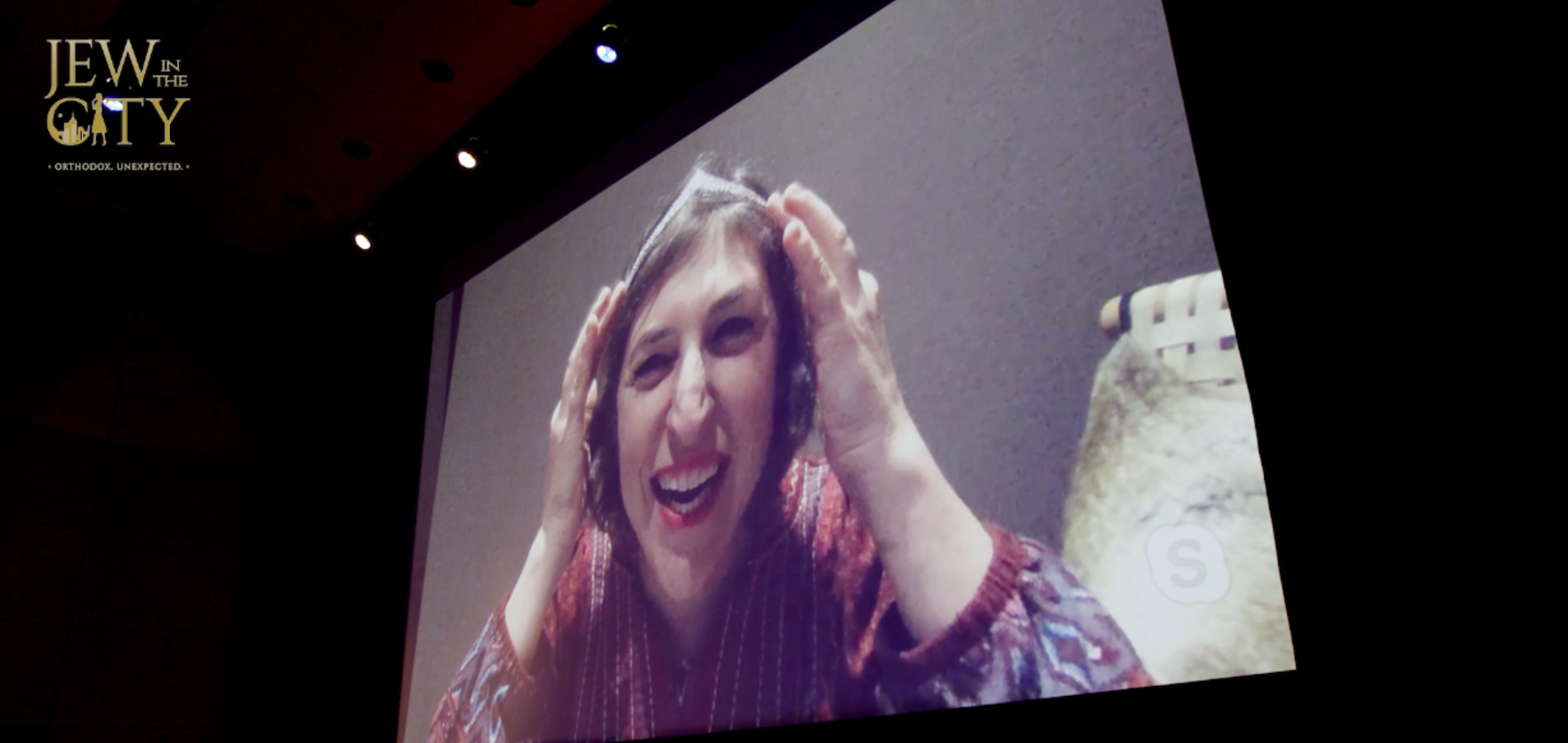 Mayim Bialik Accepts Keter Shem Tov Award At All Star Awards