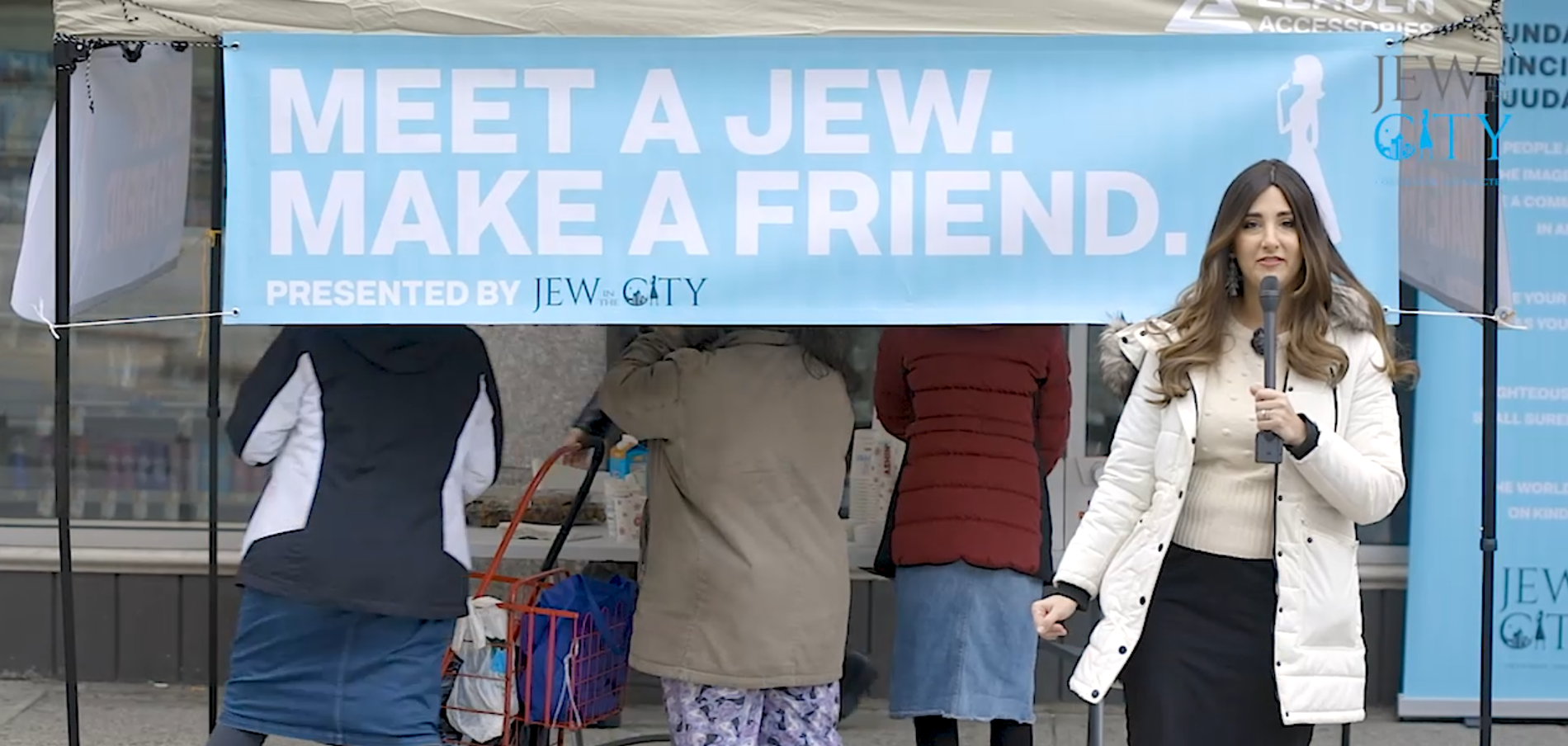 "Here's How You Can Bring ""Meet a Jew in the City"" To Your City!"