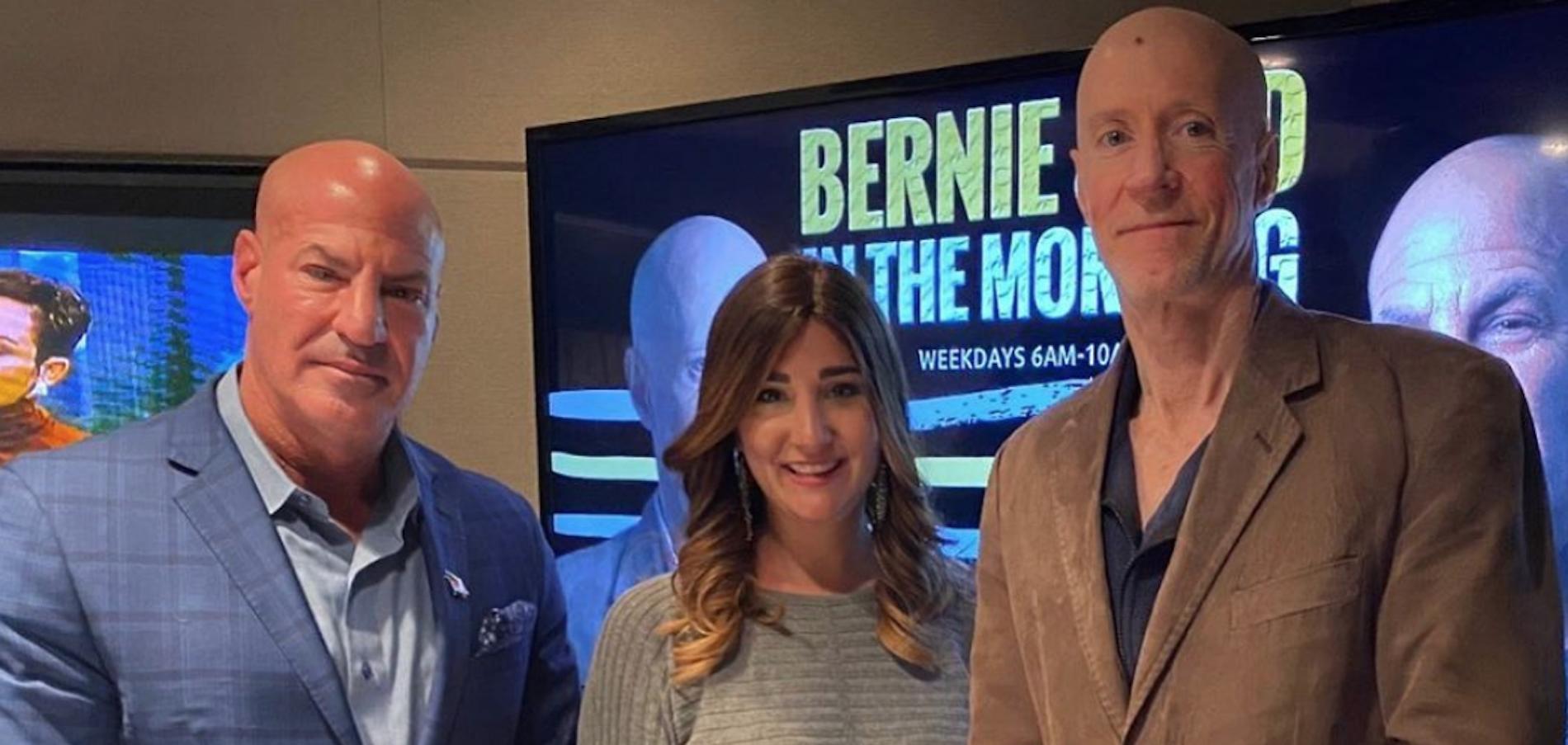 #MeetaJewintheCity on 770WABC The Bernie and Sid Show