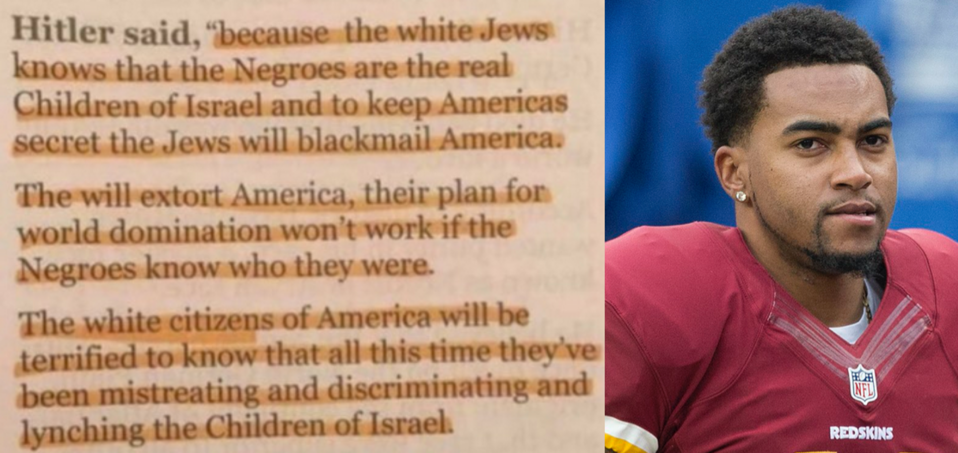 DeSean Jackson's Tepid Censure Shows That The Rules Are Always Different For Jews