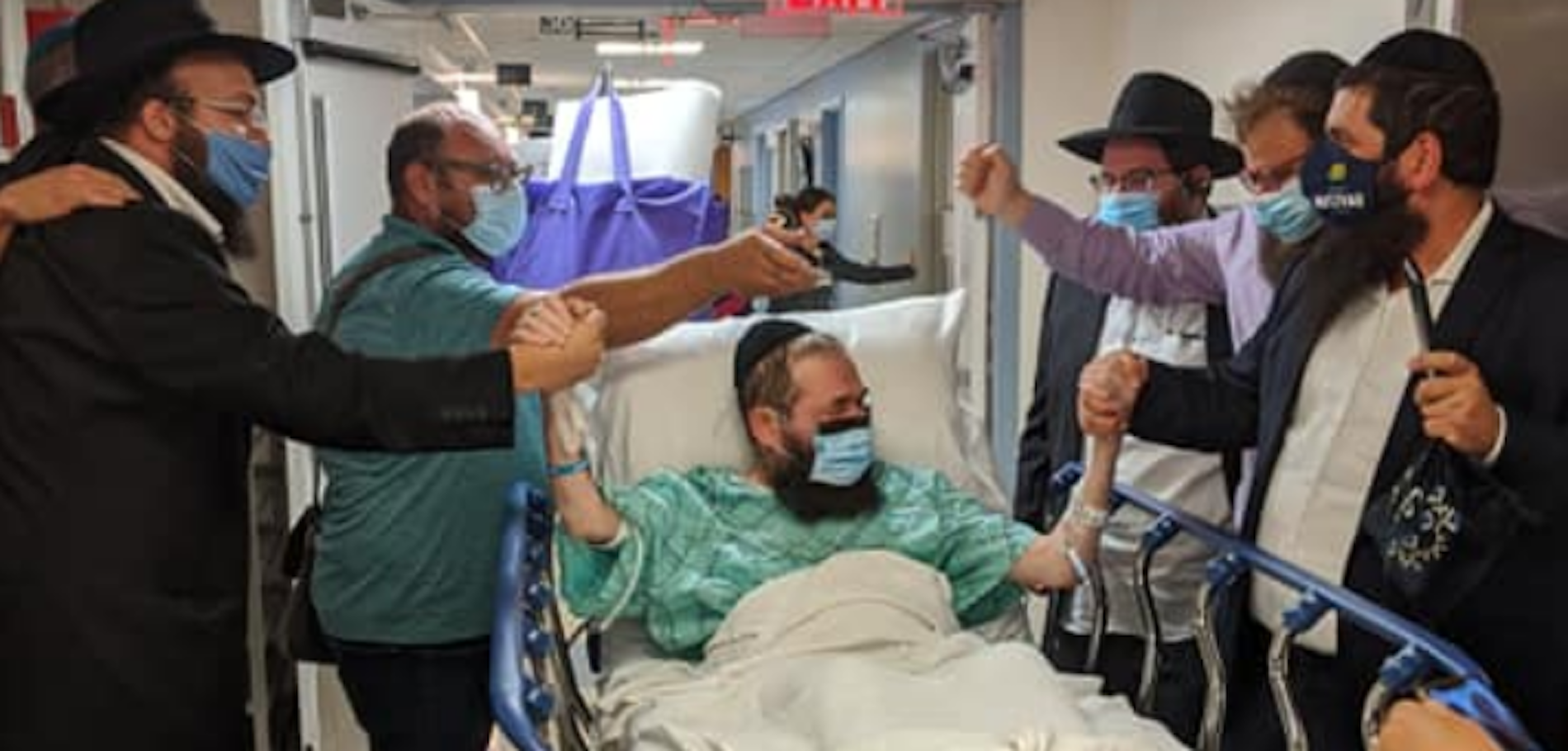 Hospital Staff Dances and Sings for Covid Patient Leaving the ICU After 158 Days & Other Orthodox Jews in the News